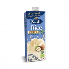 Riso Scotti Bebida de arroz y avellana ecológica