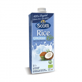 Riso Scotti Bebida de arroz y coco ecológica