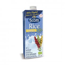 Riso Scotti Bebida de arroz y quinoa ecológica
