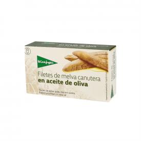 El Corte Inglés Filetes de melba canutera en aceite de oliva