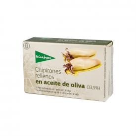 El Corte Inglés Chipirones rellenos en aceite de oliva