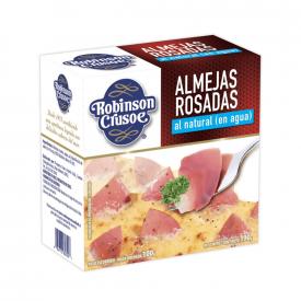 Robinson Crusoe Almejas rosadas al natural 190 g