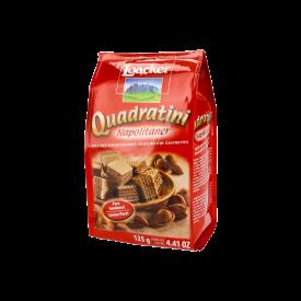 Loacker Quadratini Wafers Galleta Con Crema De Avellanas 125 g