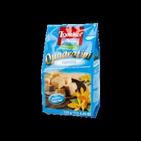 Loacker Quadratini Wafers Galleta Con Crema De Vainilla 125 g