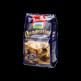 Loacker Quadratini Wafers Galleta Con Crema De Chocolate 125 g