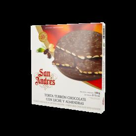 San Andrés Torta Chocolate Con Almendras 150 g