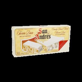 San Andrés Turrón Duro Cacahuete 150 g