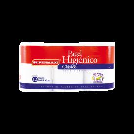 Supermaxi Papel Higiénico Clasico 3en1. X12 50m