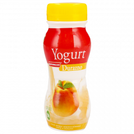 Supermaxi yogurt botellita durazno