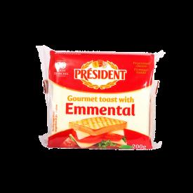 President Lonchas Emmental Queso 200GR