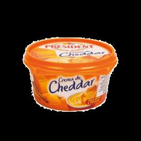 President Queso Crema Cheddar 125gr
