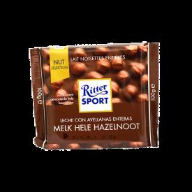 Ritter Chocolate Leche C/Avellanas 100 g