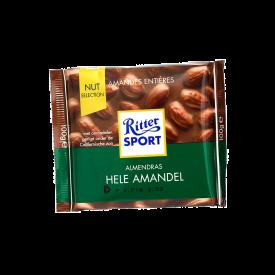 Ritter Choc Leche /Almendra 100 g