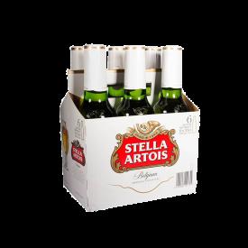 Stella Artois Cerveza. x 6 330 ml