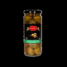 Mallorca Aceitunas Verdes Rellenas De Pasta de pimiento 340 g