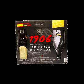 Reserva Especial 1906 Cervza Pack Copa 6x33ml